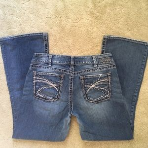 31x30 Silver boot cut jeans